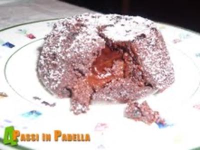 Tortino al cioccolato con cuore tenero